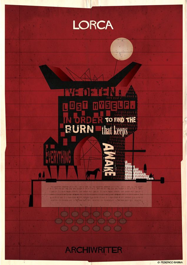 "Gallery of Federico Babina's ARCHIWRITER Illustrations Visualize the ""Architecture of a Text"" - 6"