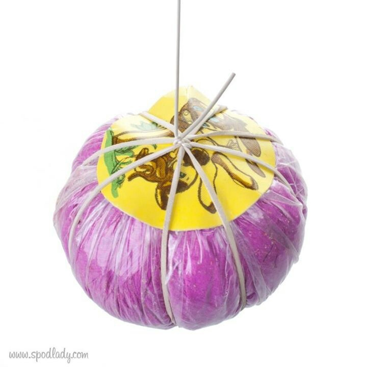 Bouncing ball -  I think it was filled with straw.  I loved mine!  Wish I could find a vintage one...