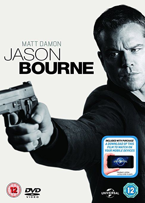 Jason Bourne (DVD + Digital Download) [2016]