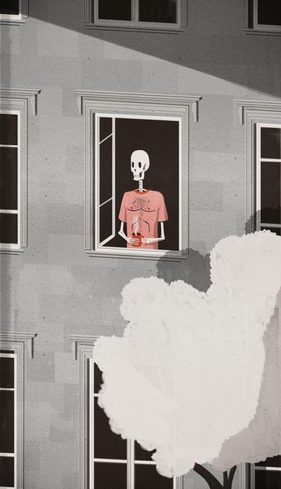 Le Monde illustration http://www.emilianoponzi.com/portfolio/les-mots-sont-des-vetements-endormis