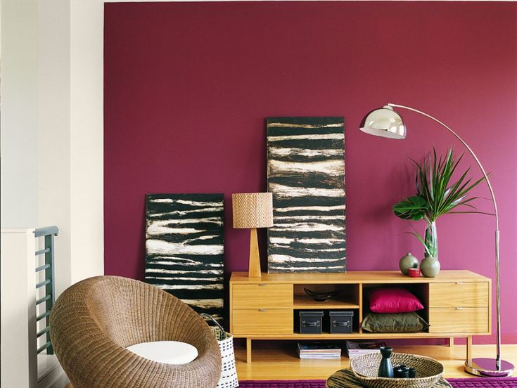 Looking For A Killer Combination Your Living Room May We Suggest Dulux Marrakesh Red And Sandy Day