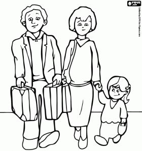 Coloring Pages Of Mom On Couch