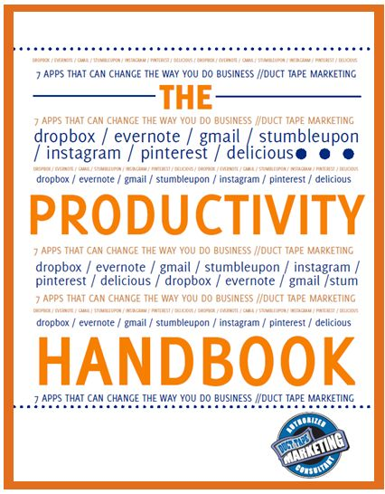 24 best download free ebooks images on pinterest free ebooks the productivity handbook for busy marketers by duct tape marketing find this pin and more on download free ebooks fandeluxe Gallery