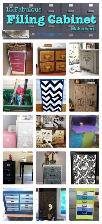 15 Fabulous Filing Cabinet Makeovers                                                                                                                                                                                 More