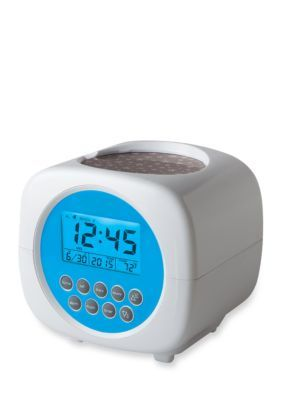 Discovery Kids™ Star Projection Alarm Clock - White - One Size