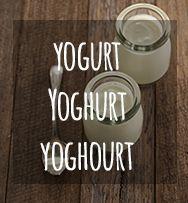 All about yogurt