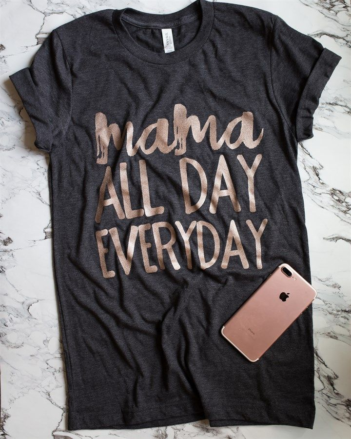 ROSE GOLD?! Yes! A mama tee must-have!