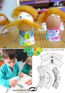 détenteurs de bricolage aux oeufs de Pâques