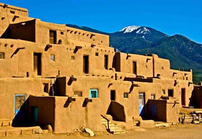 the mud house of taos pueblo lesserknownplace newmexico