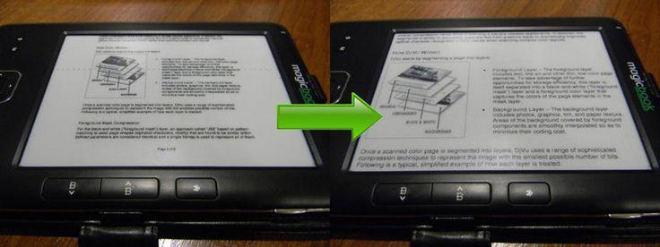 Решение проблемы чтения книг в форматах DjVu и PDF на читалках с маленькими экранами — 2 / Хабрахабр