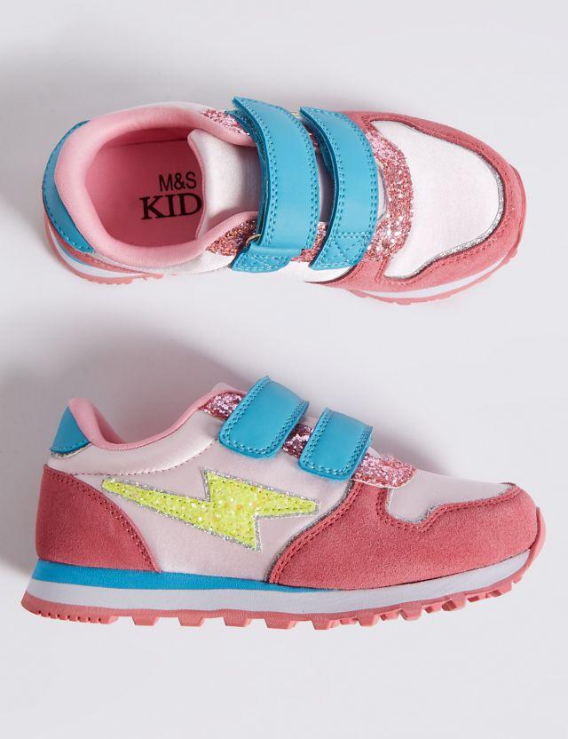 Kids' Riptape Fashion Trainers (5 Small