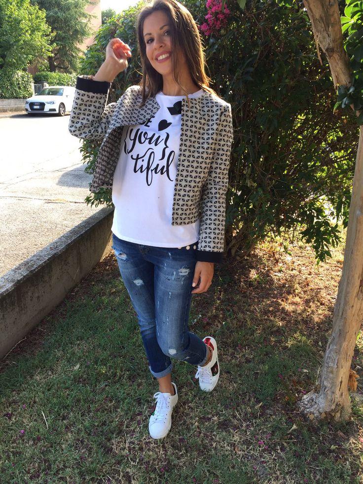 #outfit #suggestion #nastyco #glamour #fashion #denim #casual #jacket