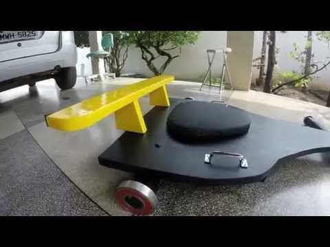 Carrinho de rolimã, carriho de rolamento - YouTube