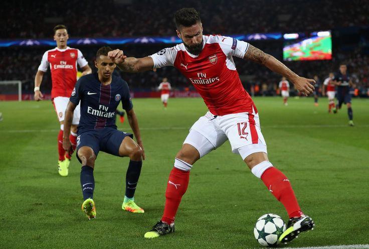 PSG 1 - 1 Arsenal. UEFA Champions League 2016/17 - Fase de grupos. 13.09.2016