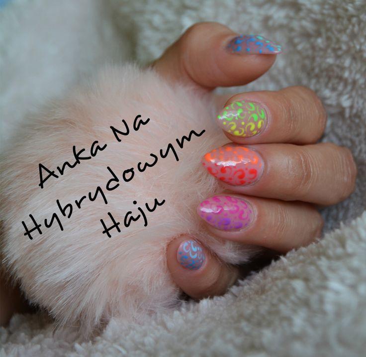 https://www.facebook.com/AnkaNaHybrydowymHaju/  #paznokcie #pazurki #manicure #hybrydy #AnkaNaHybrydowymHaju #Nails     #Nailart #wzorek #wzorki
