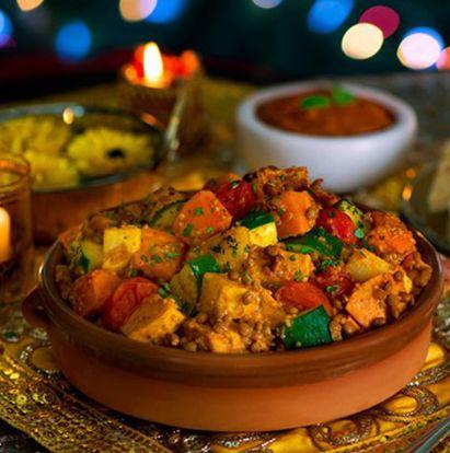 [#RECETTE 31] Ragoût tandoori aux légumes rôtis - Produit Patak's associé : Sauce Tandoori #pataks #cuisineindienne #Inde #recettes #recetteindienne #indianfood #India #Indianrecipe #recipes #food www.pataks.fr/