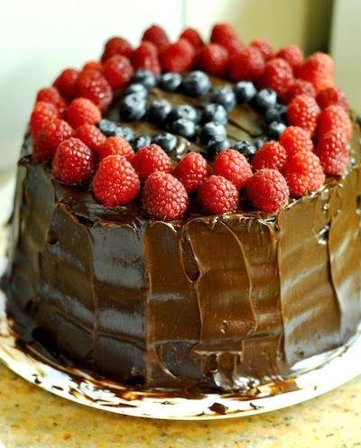 LE BONHEUR EST SANS GLUTEN : Recette sans gluten: gâteau au chocolat