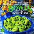 Pesto Tortellini by Amy's Kitchen - healthy, organic, and very tasty!
