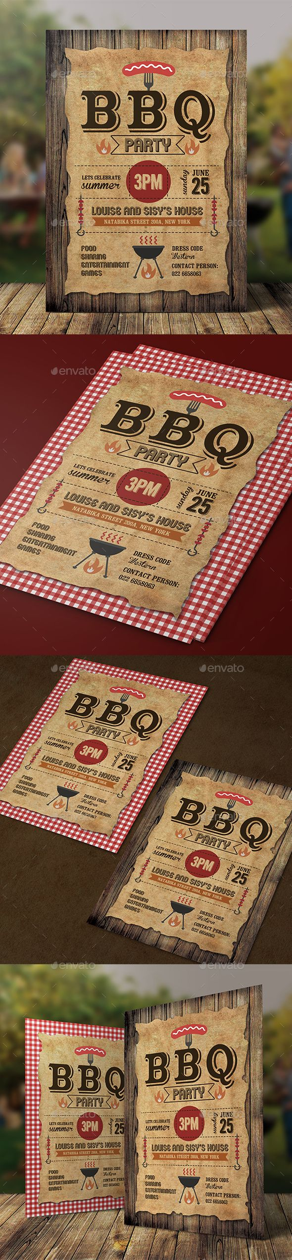 BBQ Invitation The 416 best Food u0026