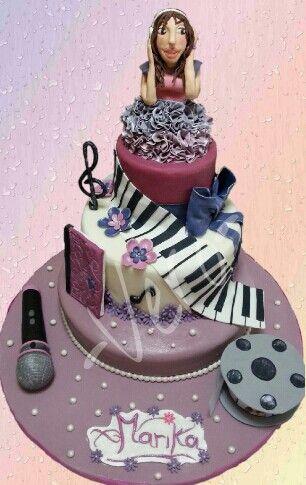 Violetta's cake...