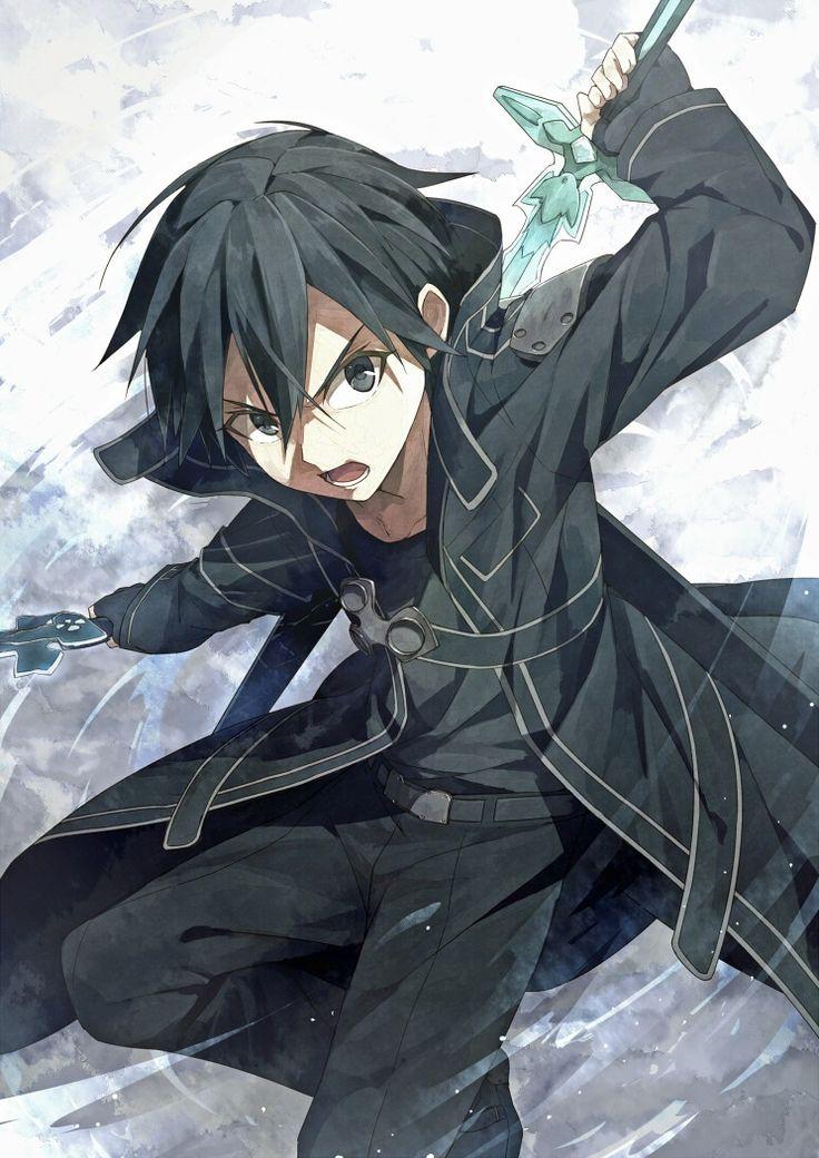 Kirito   Sword Art Online #anime