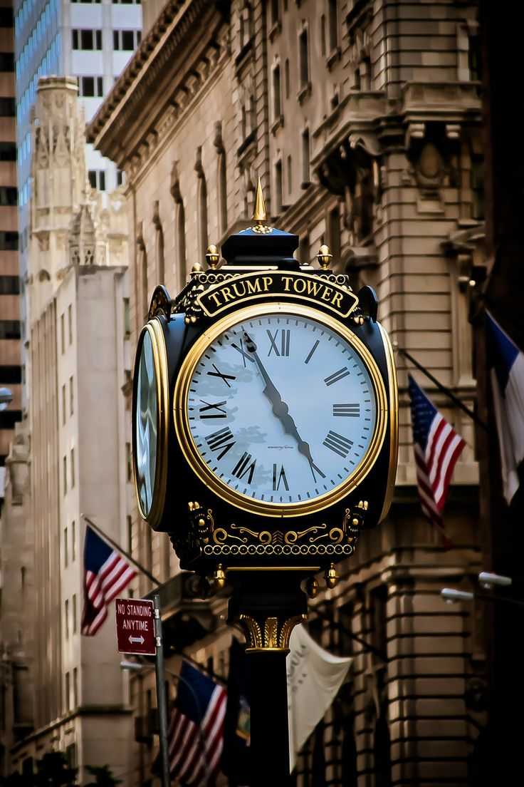 Trump Tower Clock | Manhattan ~ New York City