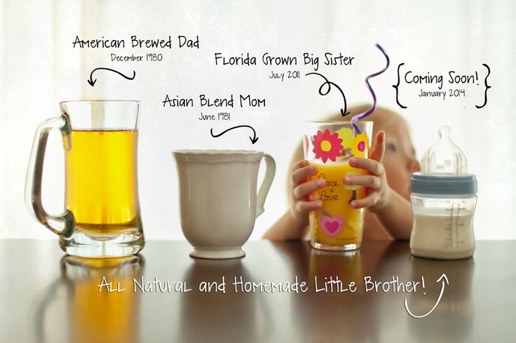 What a great New Baby Announcement idea!   <3 Lisa Brennaman Photography!