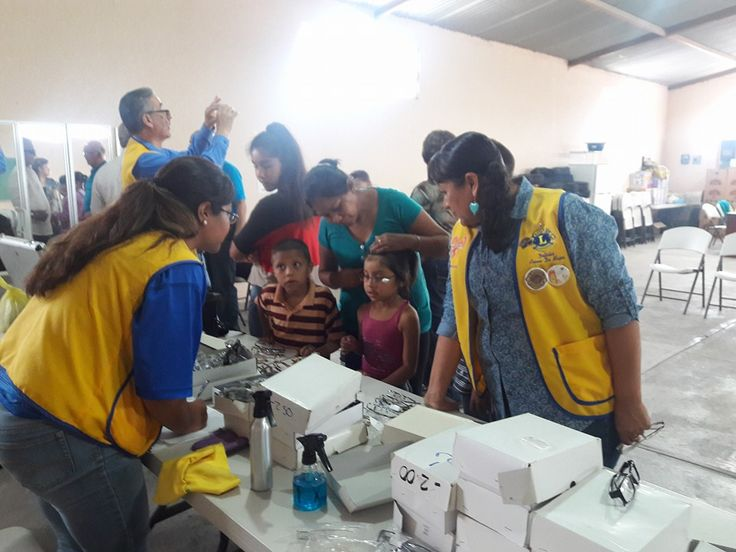 Delicias Aroma de Mujer #LionsClub (Mexico) provided vision screenings and eyeglasses to 103 people