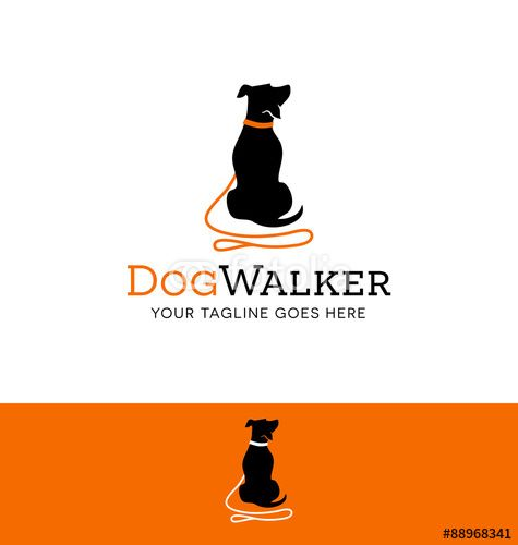 logo design for dog walking, training or dog related business ...