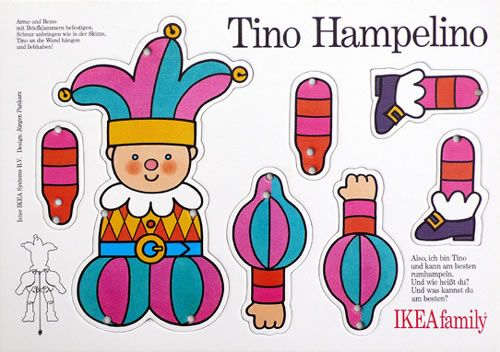Hampelmann / Illustration und Produktion / IKEA family, 1992