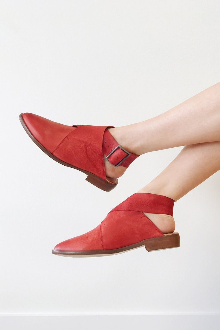 I could do red shoes but they need to make an understated statement