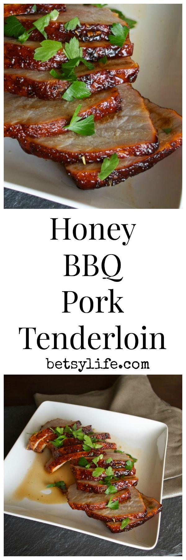 Honey BBQ Pork Tenderloin