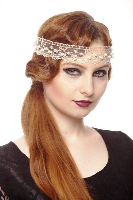 Bridal Flapper Headbands by Surabhi on Etsy