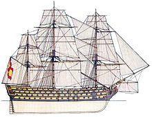 Santísima Trinidad (navío) - Wikipedia, la enciclopedia libre