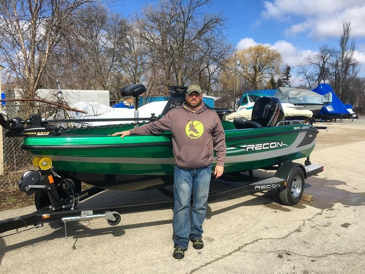 Congrats on your new #Recon #Fishing #Boat Brian!! See you out on the water