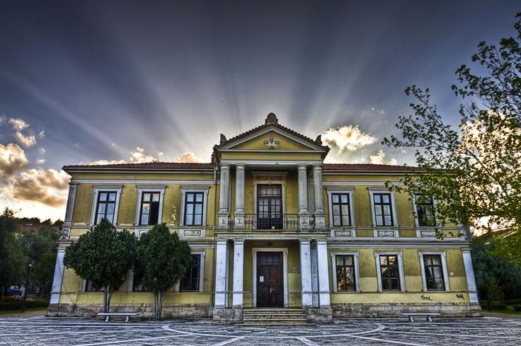 Kozani Municipal Conservatory of Kozani     Constantinos Drizis' Old Residence (Kozani's Benefactor)