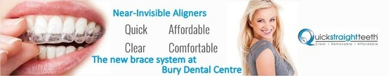 We are the only accredited practice for Quick Straight Teeth in the Bury area