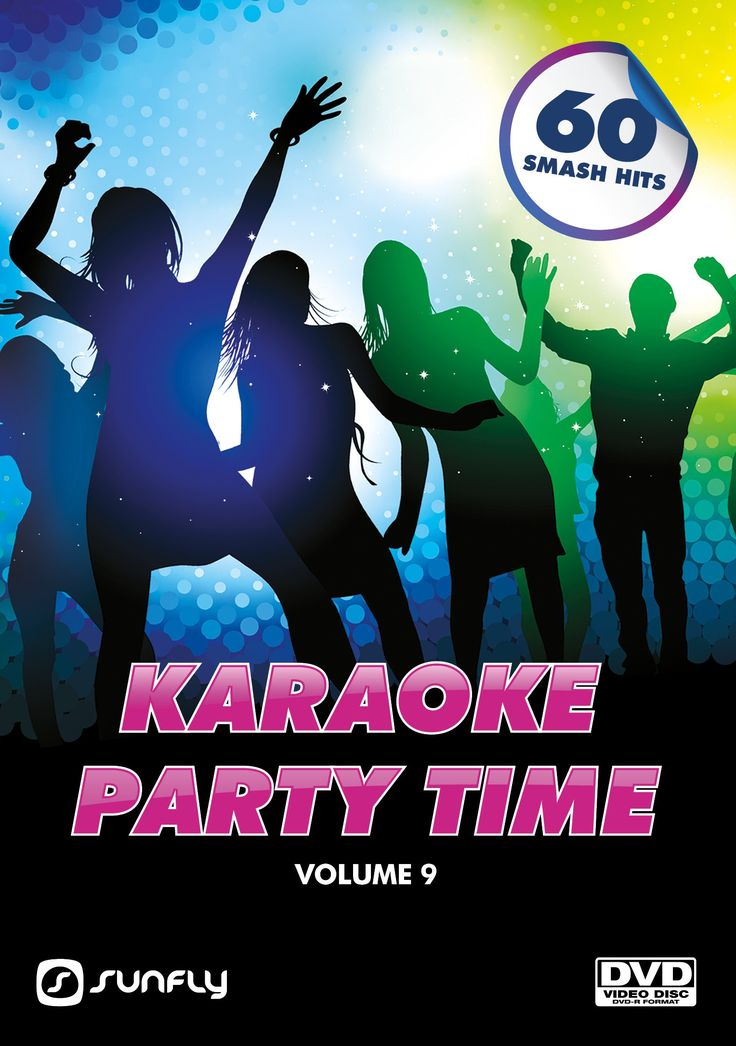 Sunfly Karaoke Party Time Collection Volume 9 on DVD