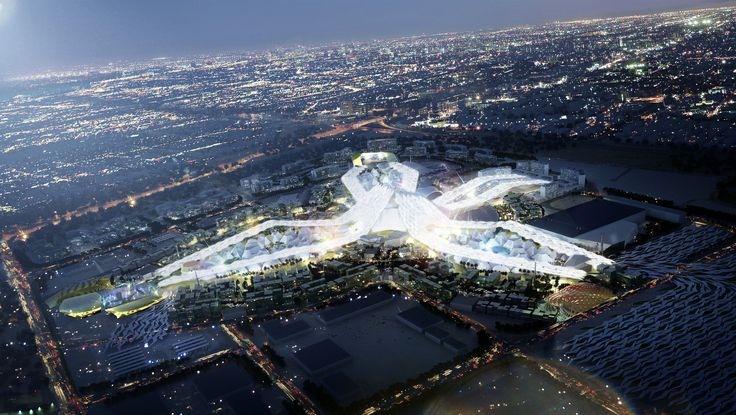 Gallery of Dubai Wins World Expo 2020 Bid with HOK-Designed Master Plan - 1