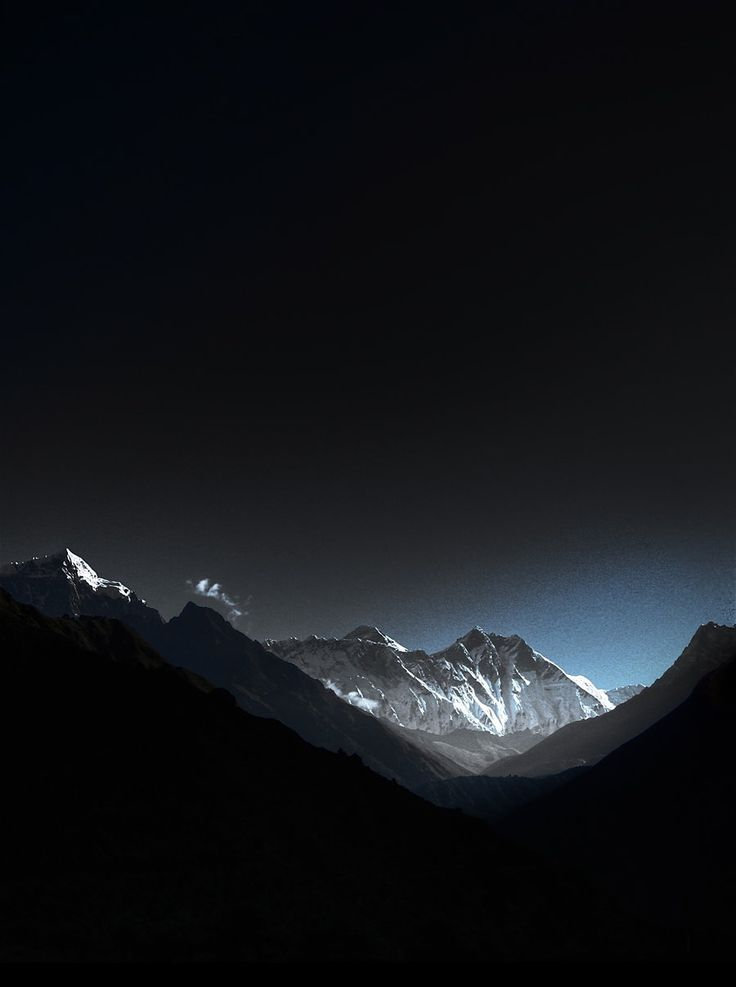 Himalayas at Sunrise by thesolitary.deviantart.com on @deviantART