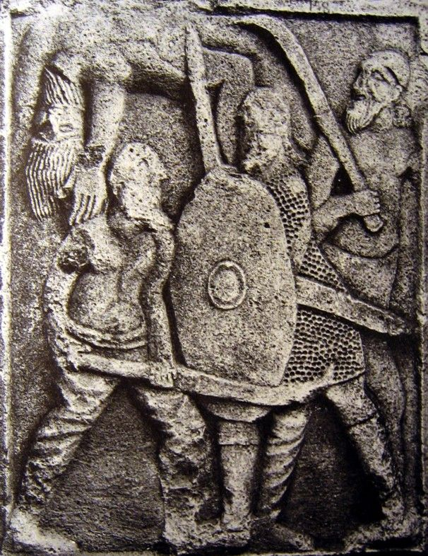 The Romans were terrified of the Dacians weapons. Their preferred sword was the single edged falcata: capable of severing limbs with a single blow. Perhaps their most dreaded weapon was the war scythe. The Romans had to adapt gladiator armor to counter it   The Dacian war scythe was known as a falx; the falcata was a Spanish weapon.  Dacian swords were short and doubled-edged, presumably based on the gladius or the xiphos.