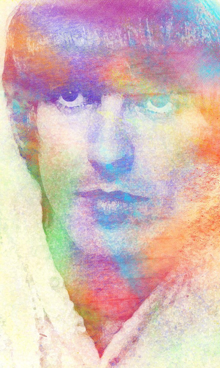 George Harrison<3 (Source- http://gypsytheacidqueen.tumblr.com/post/58800003764)
