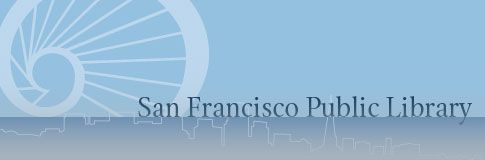 This SFPL event will occur on Tuesday, August 27, 2013 from 6:00 - 7:30 at Main Library Branch, Koret Auditorium