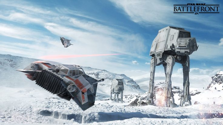 Here are 5 minutes of gameplay from Star Wars: Battlefront — including a lightsaber battle