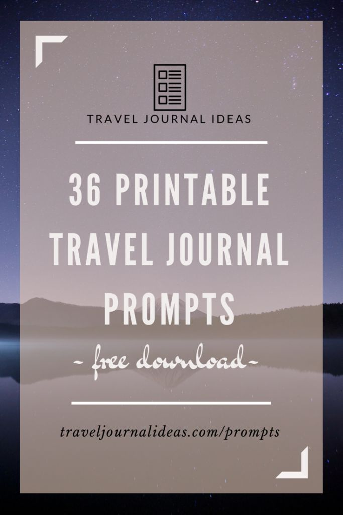 ... journal travel journalling journal thoughts printable travel journal