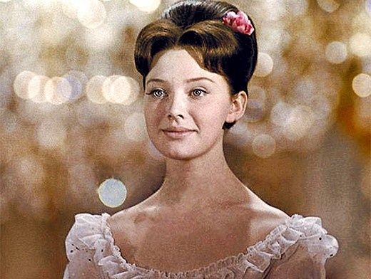 "Actress.Ludmila Savelieva in"" War & Piece"" as Natasha Rostova."