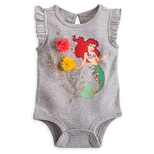 Ariel Disney Cuddly Bodysuit for Baby | Disney StoreAriel Disney Cuddly Bodysuit
