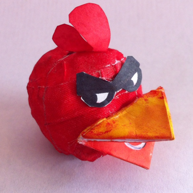 3D Red Angry Bird by Rafa