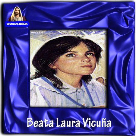 Leamos la BIBLIA: Beata Laura Vicuña