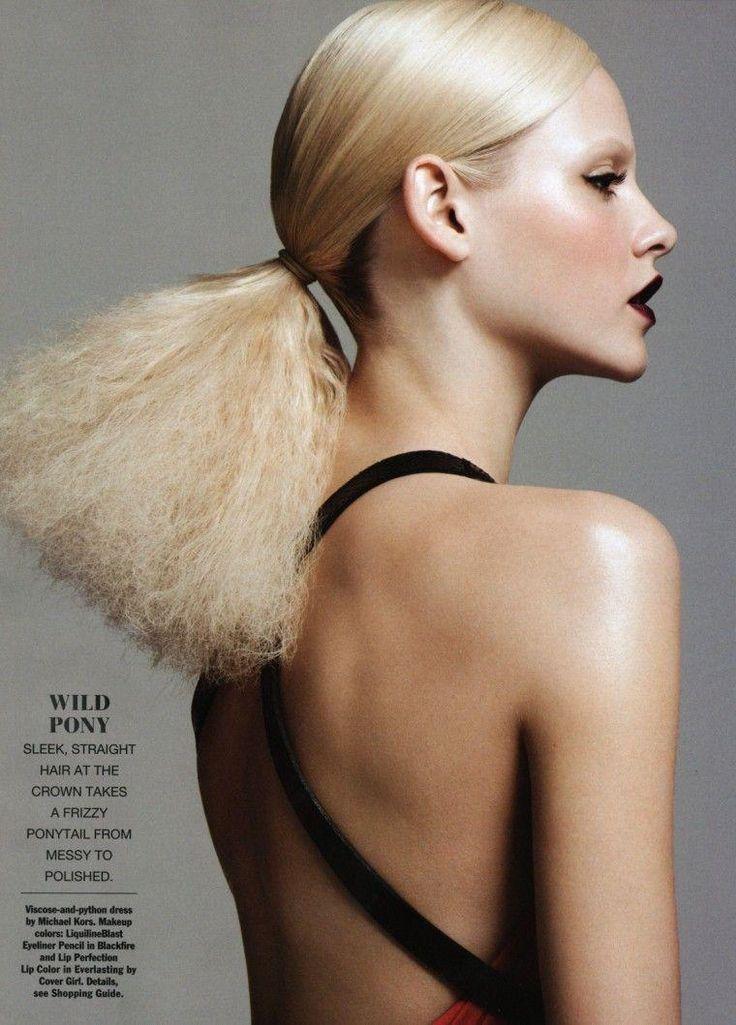 Allure Magazine   Ginta Lapina   Nicolas Moore   Hair: Orlando Pita